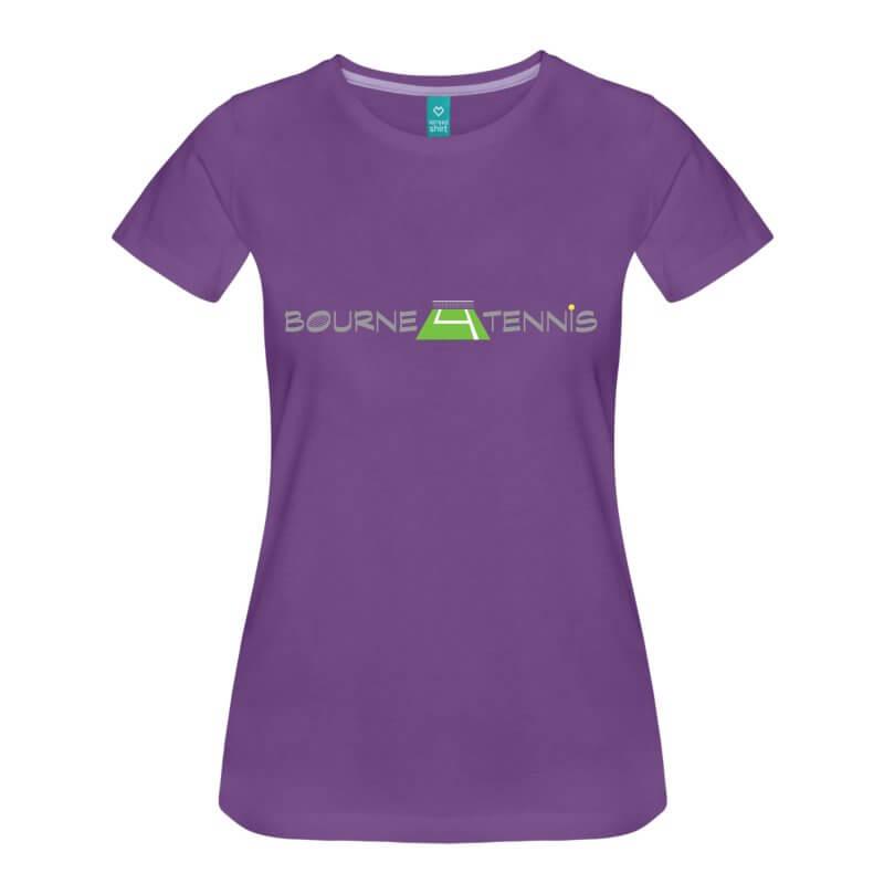 bourne-4-tennis-logo-womens-premium-t-shirt